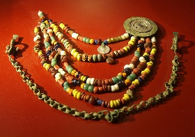 Viking Age bead necklace